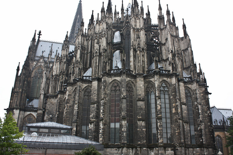 East side of the Dom