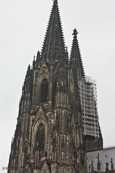 Cologne, Dom, spires