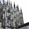 Flying buttresses, south side of the Dom