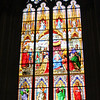 Stained glass window, Dom