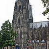 Cologne, Dom, spires, from the south side