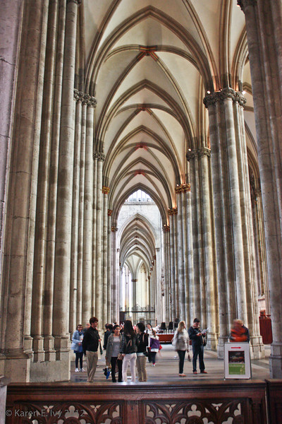 Side aisle of the Dom