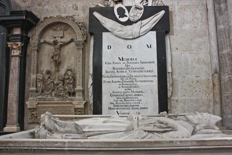 Tomb of Bishop (Archbishop?) Francken Sierstorpff