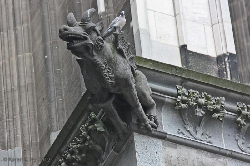 Gargoyle, north side