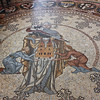 Memorial mosaic for a knight, floor of the Dom