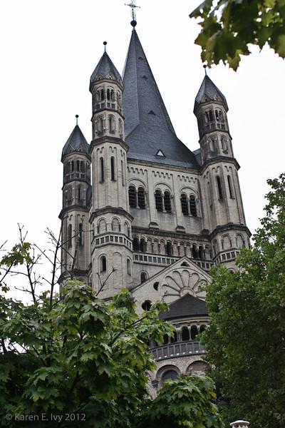 Great St. Martin, spire