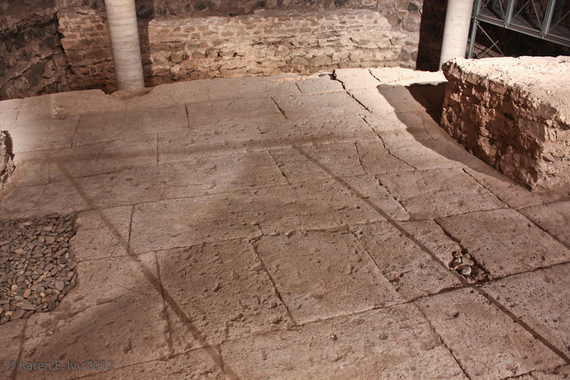 Roman remains, Great St. Martin