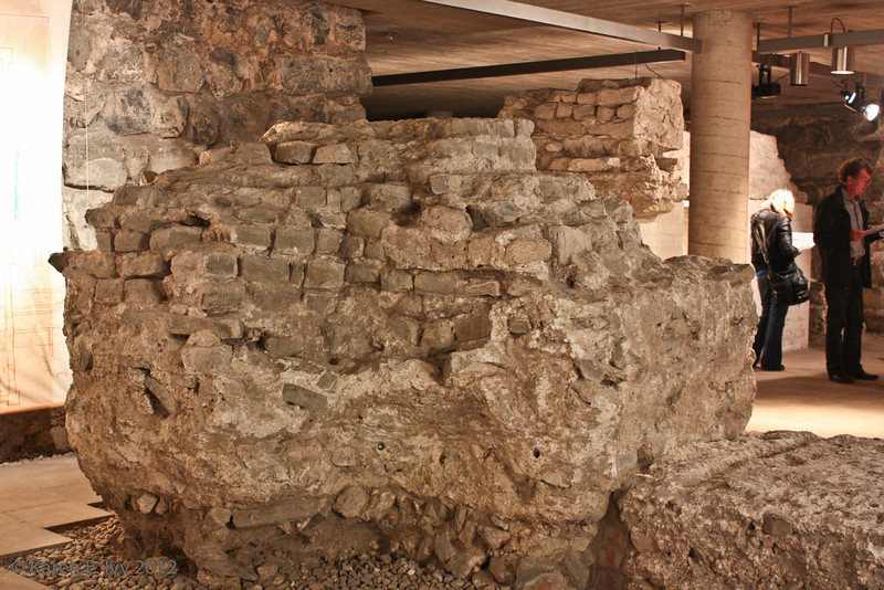 Roman remains, Great St. Martin