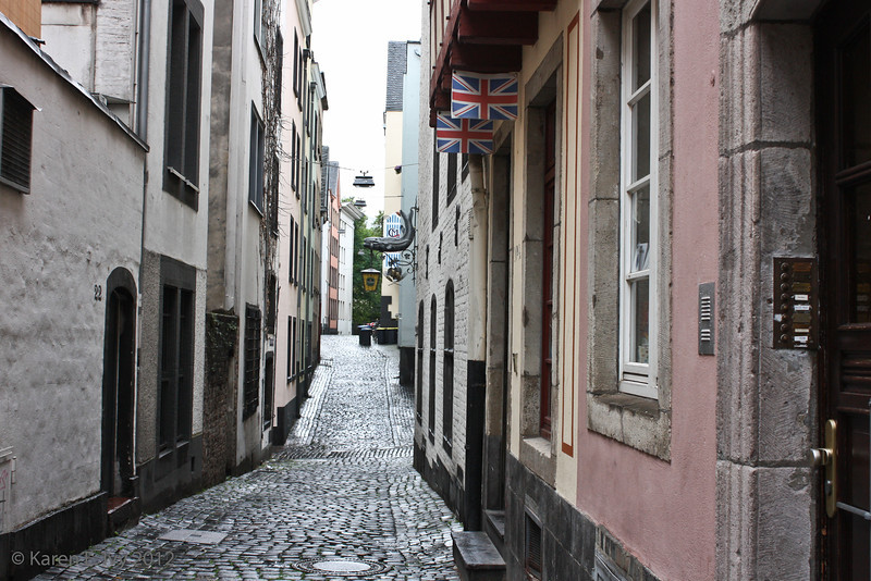 Alley in Cologne