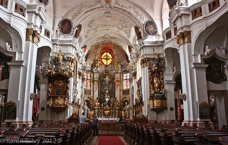 Dürnstein Abbey church