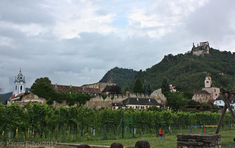 Dürnstein town and castle