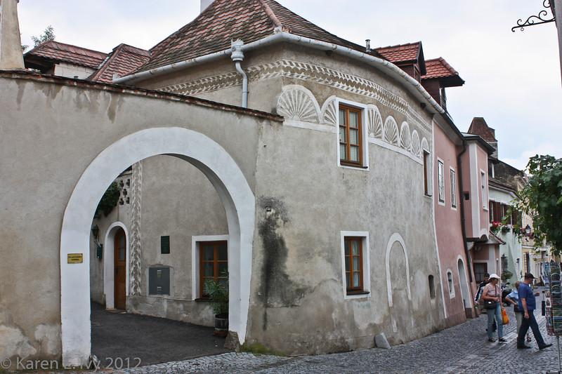 A street in Dürnstein