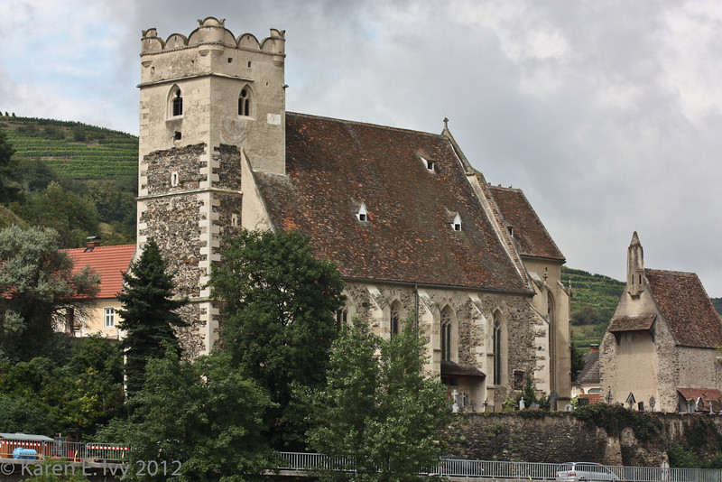 Wehrkirche (fortified church) St. Michael in the Wachau
