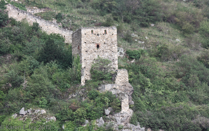 Guard tower on the wall