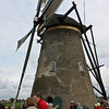 Windmill with sail set, Kinderdijk