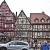 Miltenberg town square, major half timbering