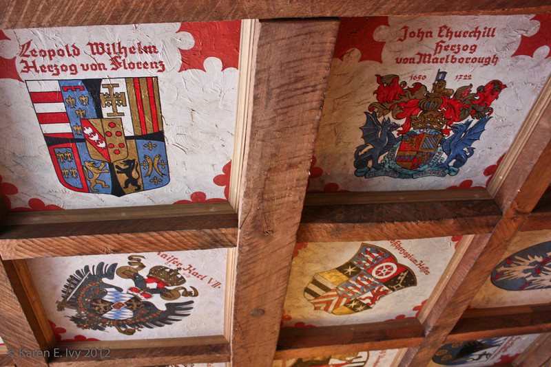 Hotel, Miltenberg - coats of arms