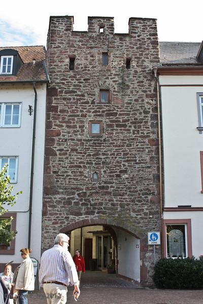 Wertheim, old city wall