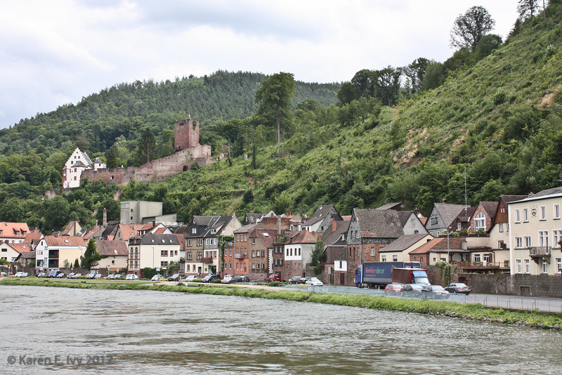 Miltenberg, with the castle above the town