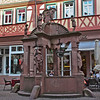 Wertheim, old well in square