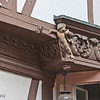 Carving on a house by the city gate