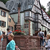 Miltenberg town square fountain