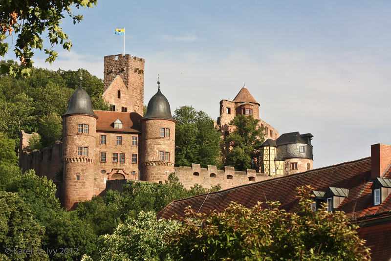Wertheim Castle, from a decent vantage finally