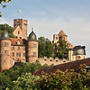 Wertheim Castle, from a decent vantage finally