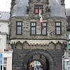 Andernach city gate, we stopped here for Marksburg