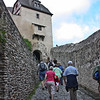Marksburg Schartentor or Notches Gate.  This 3rd gate was in the Castellan's Tower.