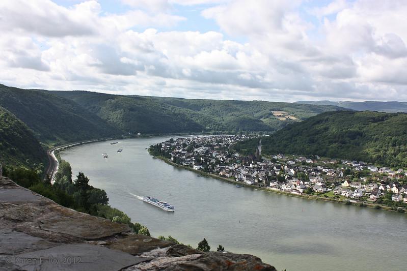 The Rhine from Marksburg