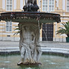 Base of the fountain