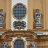 Melk Abbey, below the towers