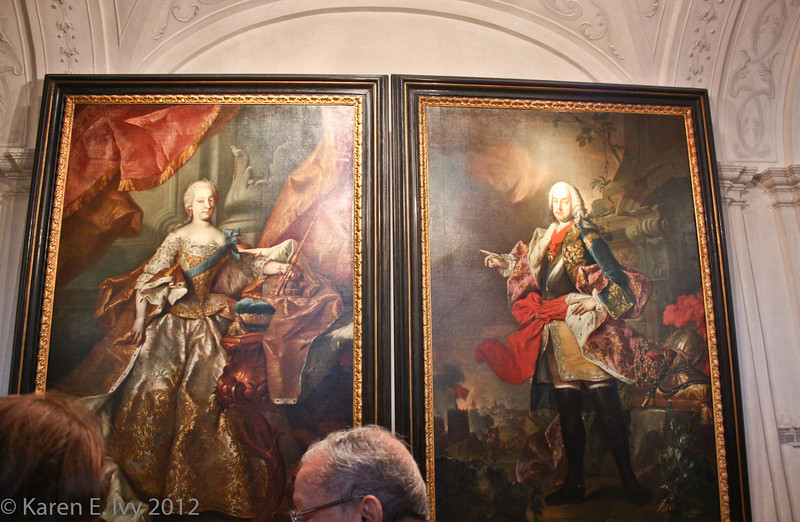 Holy Roman Empress Maria Theresa and her husband Francis I