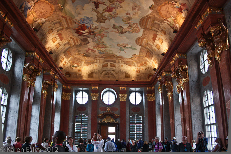 The Marble Hall, Melk