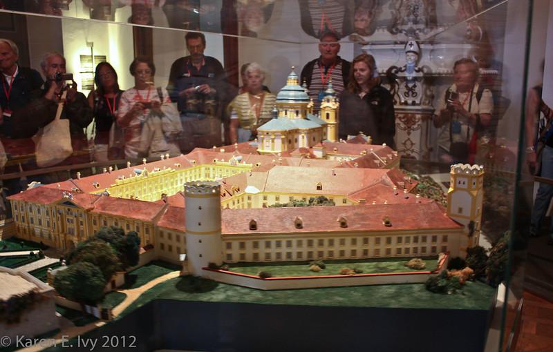 Scale model of Melk Abbey 1:100