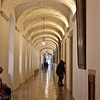 Corridor outside the Melk Museum