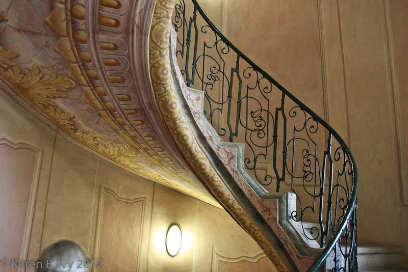 Melk, spiral staircase