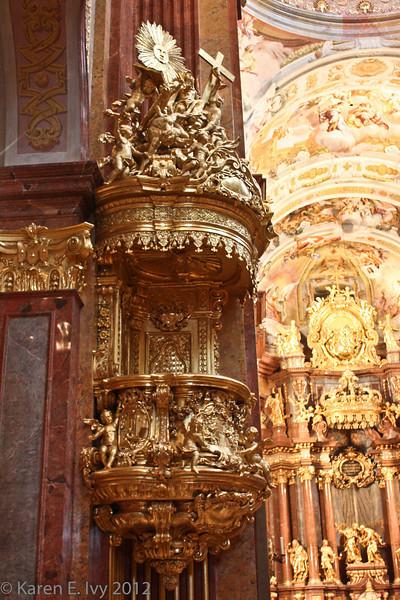 Pulpit, Melk Abbey