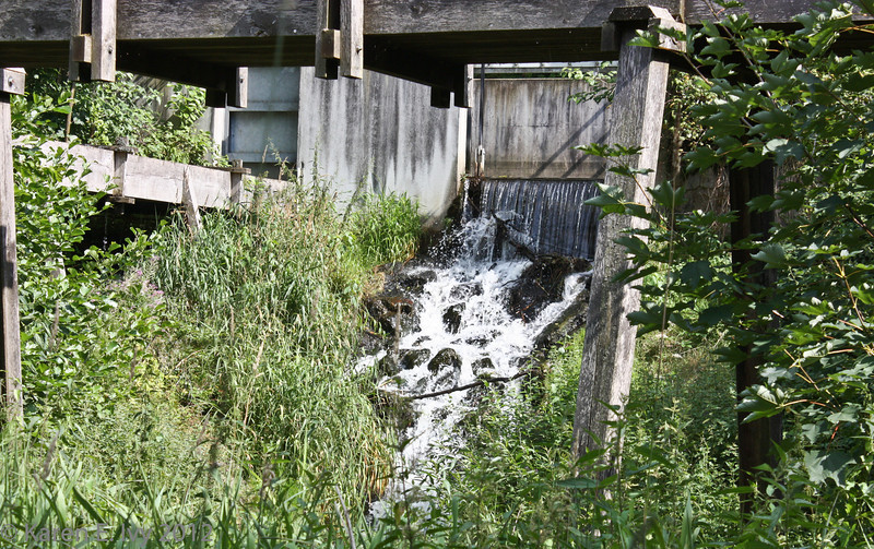 The millstream.
