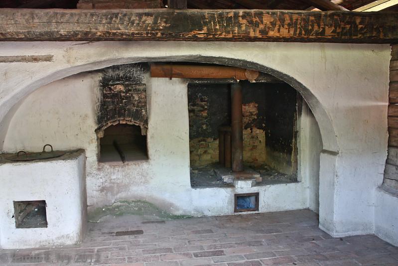 A baker's oven.