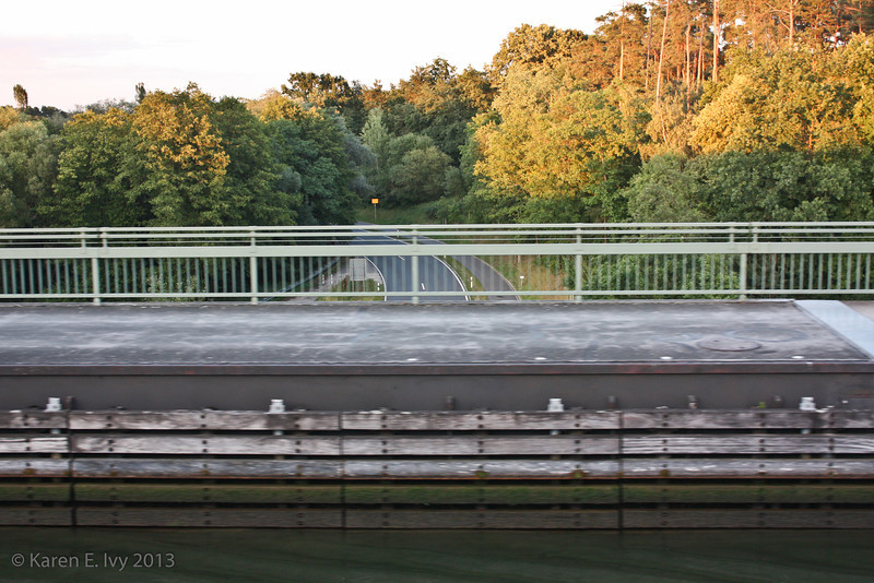 Taken from Embla - the Main-Donau Canal is in an overpass with a highway below it