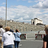 Zeppelin Field stands, where the big Nazi rallies were held