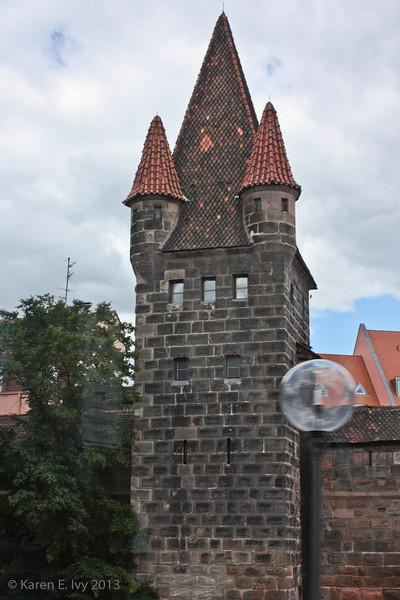Luginsland tower, part of the Kaiserburg