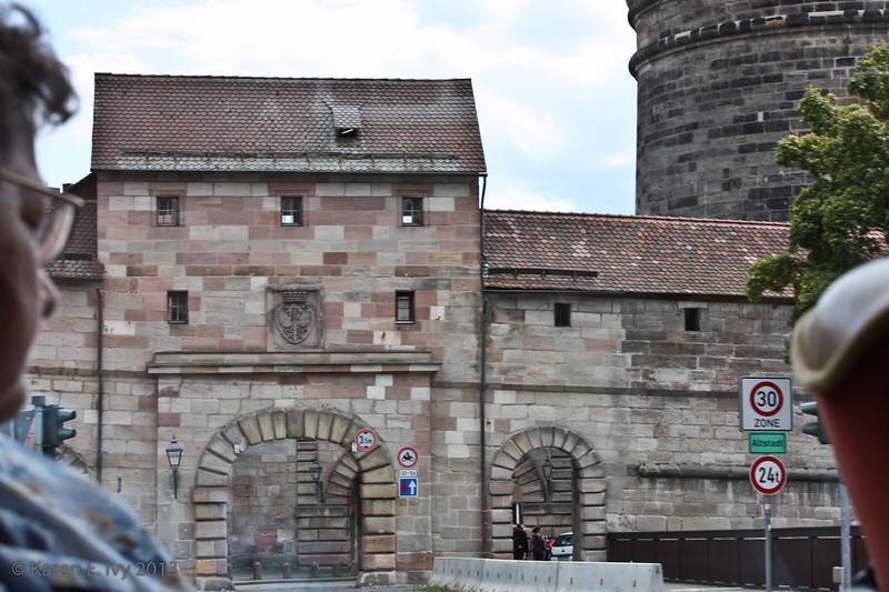 Kaiserburg gate