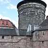 Nuremberg city walls and Sinwell Tower (Sinwellturm)