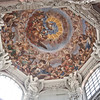 Ceiling painting in a crossing, Dom St. Stephan