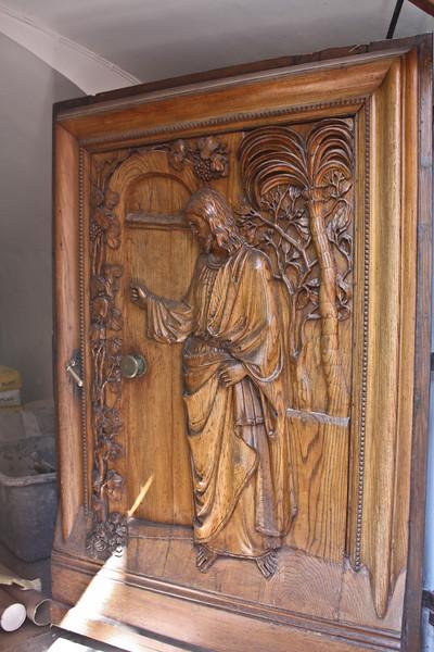 Carved door, Passau