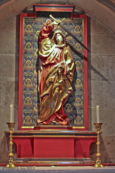 A very baroque Archangel Michael