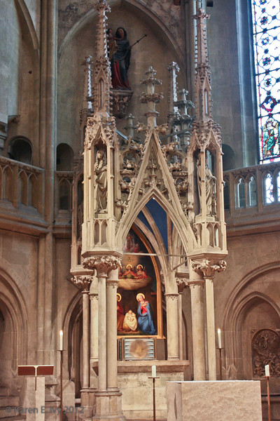 Altar in the Sailer Chapel (named after Bp. von Sailer)